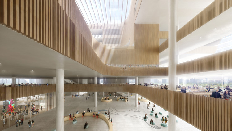 © D&W / Schmidt Hammer Lassen Architects