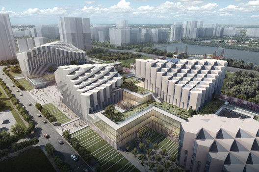 Pei Partnership Architects Wins Competition for Nanhai Cultural Center