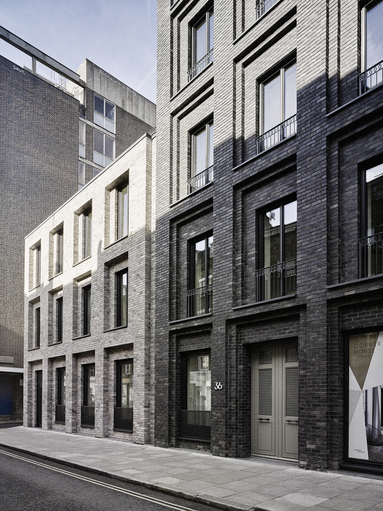 Gallery of corner house dsdha 2 - The house on the corner contemporary paris ...