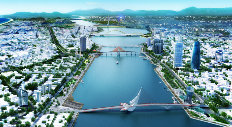 OMGEVING Wins Design Competition to Restore Riverfront in Vietnam , Courtesy of OMGEVING