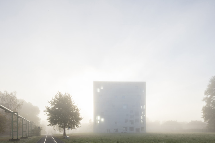 SANAA's Zollverein School of Management and Design Photographed by Laurian Ghinitoiu, © Laurian Ghinitoiu