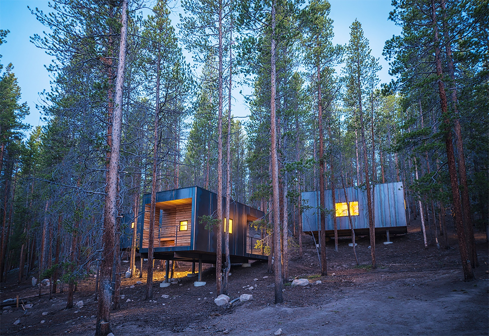 Gallery Of Cobs Year Round Micro Cabins Colorado