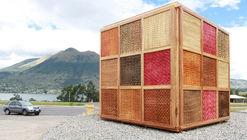 'Cubo de Totora' en Ecuador: fortaleciendo la identidad local a través de un diseño flexible y multiprogramático