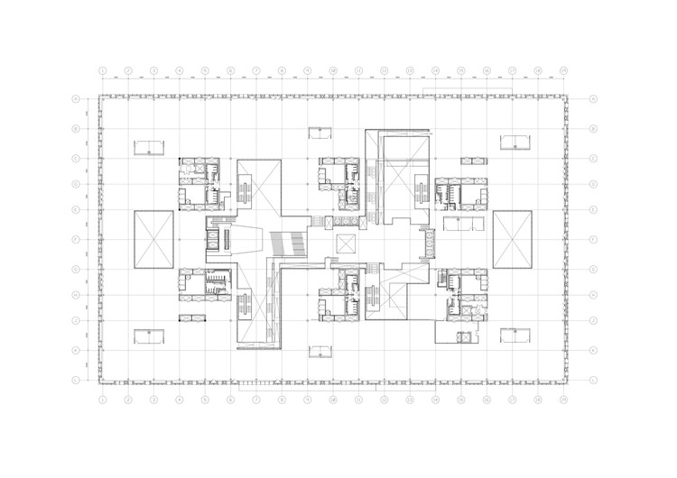 Floor Plan Second level - Courtesy of PLP