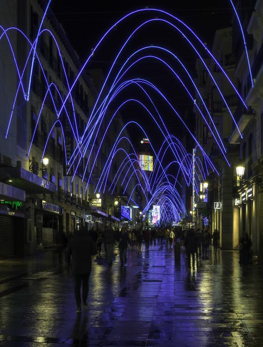 Campanadas, una instalación de luces para iluminar Madrid en Navidad, ©  Gabriel López