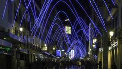 Campanadas, una instalación de luces para iluminar Madrid en Navidad