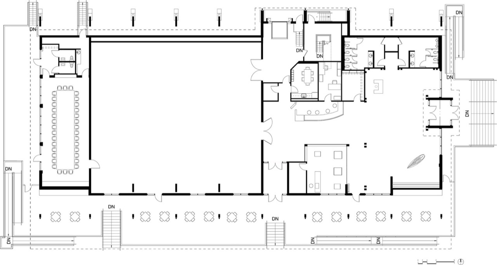 gallery of thompson exhibition building centerbrook architects thompson exhibition building floor plan
