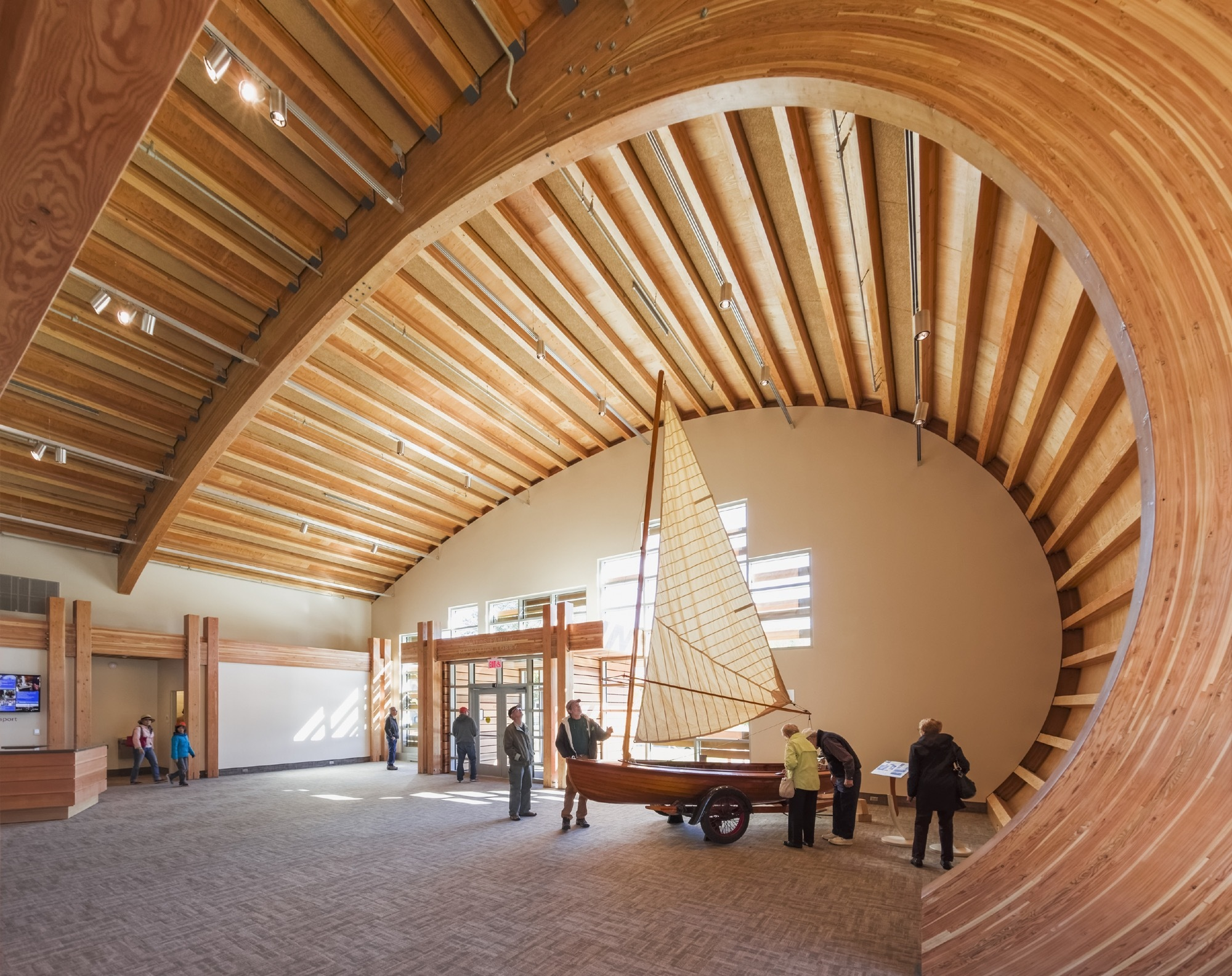 Thompson Exhibition Building Centerbrook Architects And