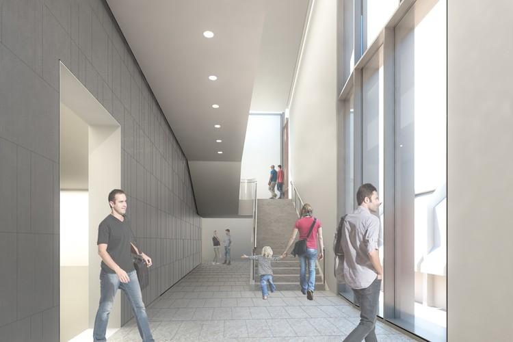 Escalera norte. Imagen cortesía de Ennead Architects