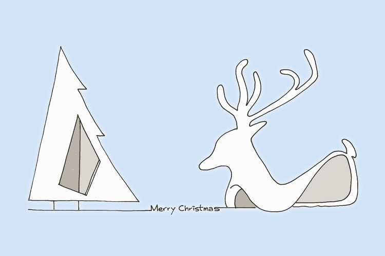 Best Submissions to 2016 Architecture Holiday Card Challenge , Submitted by Evan Chan