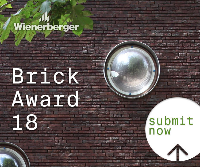 Wienerberger Brick Award 2018 Entry Period is Open, Philippe van Gelooven