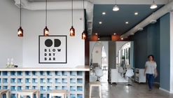 OD Blow Dry Bar  / SNKH Architectural Studio