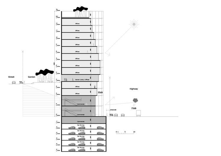 Corte/Sección. Imagen cortesía de BAD Architects
