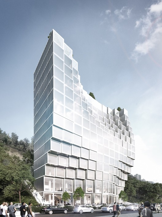 Built by Associative Data Architects to Design Mixed-Use Project in Lebanon, Courtesy of BAD Architects