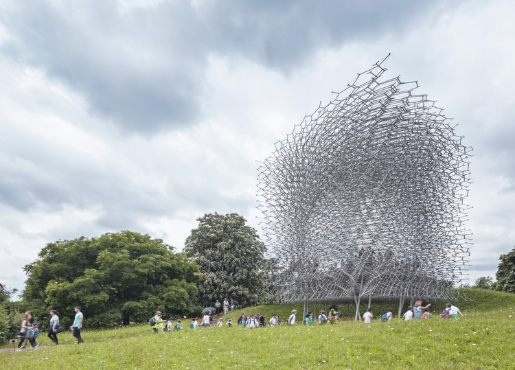 "Wolfgang Buttress' UK Expo Pavilion, ""The Hive,"" Wins 2016 Landscape Institute Award, © Nick Caville BDP. Courtesy of the Landscape Institute"