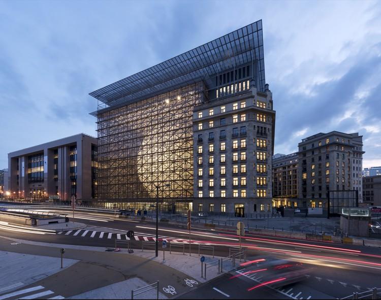 European Council and Council of the European Union  / Samyn and Partners, © Marie-Françoise Plissart