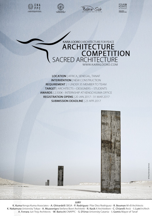 Sacred Architecture - Kaira Looro International Architecture, Kaira Looro Competition