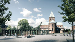 Gottlieb Paludan Architects Win Pavilion Competition in Ringsted Square Denmark
