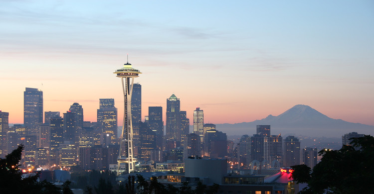 5 Monuments to Progress, Space Needle / John Graham & Company. Image Courtesy of Wikimedia user Rattlhed (Public Domain)