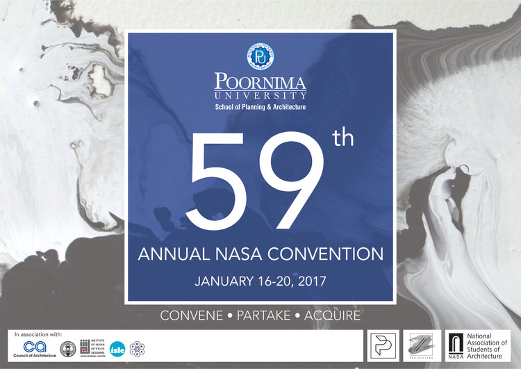 59th Annual NASA Convention, Parallel Projections the 59th Annual NASA Convention to be held in Jaipur, Rajasthan India