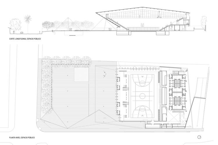 Section + Floor Plan