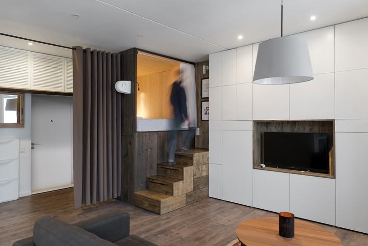 Departamento de 35 m2 / Studio Bazi, © Ilya Ivanov