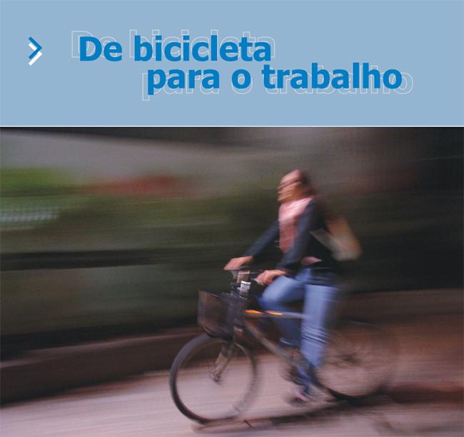 """Transporte Ativo e Mountain Bike BH elaboram o manual """"De Bicicleta para o Trabalho"""", Via Transporte Ativo"""