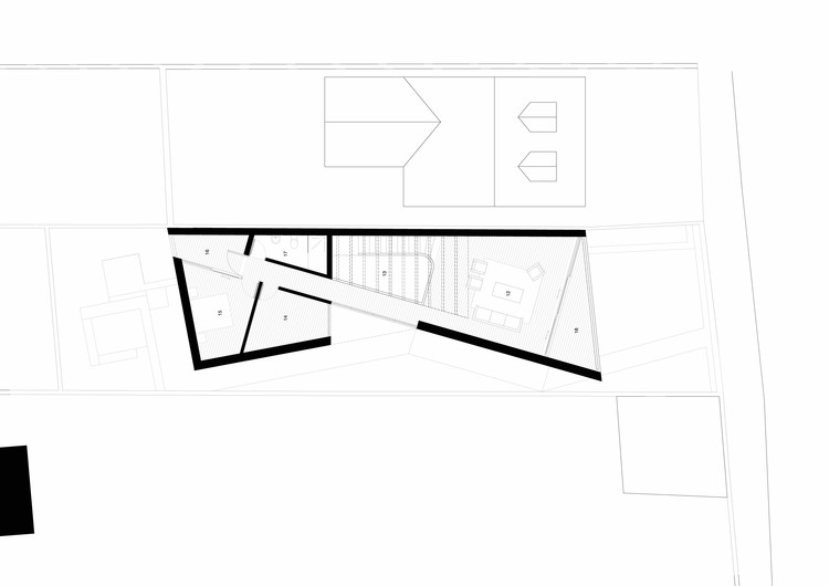 folding house a2 architects archdaily. Black Bedroom Furniture Sets. Home Design Ideas