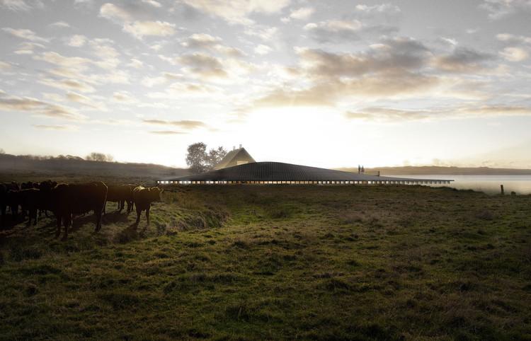 Perspectiva Oeste. Imagen Cortesía de Arkitema Architects