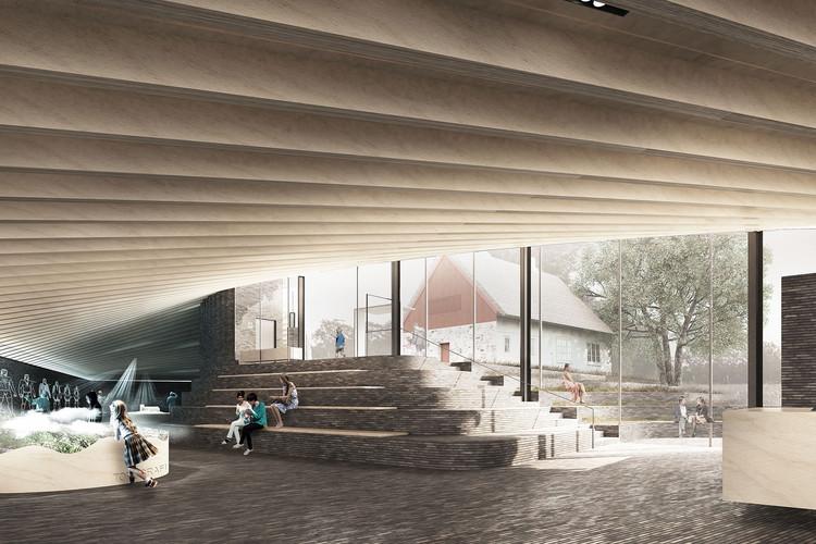 Perspectiva Interior. Imagen Cortesía de Arkitema Architects
