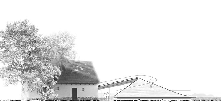 Elevación Norte. Imagen Cortesía de Arkitema Architects