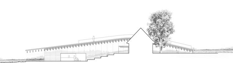 Elevación Este. Imagen Cortesía de Arkitema Architects