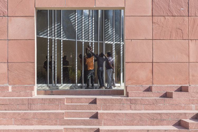 "Is India Building the ""Wrong"" Sort of Architecture?, Charles Correa's Jawahar Kala Kendra in Jaipur. Image © Laurian Ghinitoiu"