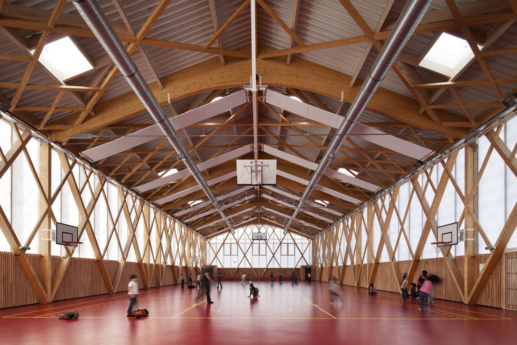Tino School / AAVP Architecture, © Luc Boegly