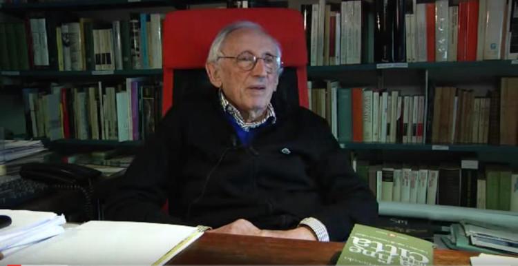 A los 93 años fallece Leonardo Benevolo, Screenshot: Entrevista a Leonardo Benevolo por Editori Laterza - Roma