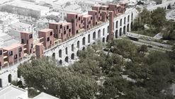 Diseño ganador propone una nueva estructura de madera sobre un acueducto del siglo 4 en Estambul