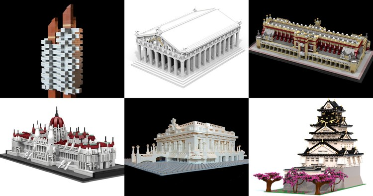 19 Of Our Favorite User-Created Architecture LEGO Sets (Which You Can Vote Into Production!), via LEGO Ideas
