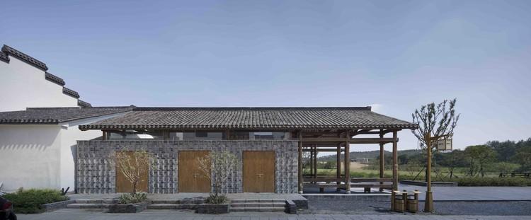 Tienda Rural en la Aldea de Huashu / Architects Institute of Architecture Design & Planning CO. Ltd, Nanjing University - Atelier Zhouling, Elevación Calle. Image © Hou Bowen, Zhou Ling