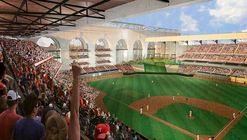 HKS Designs New Ballpark for MLB's Texas Rangers