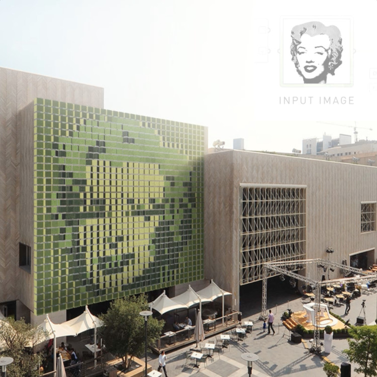 Video: This Kinetic Green Wall Displays 'Pixel' Plant Art, Courtesy of BAD. Built by Associative Data