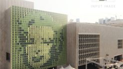 Video: This Kinetic Green Wall Displays 'Pixel' Plant Art
