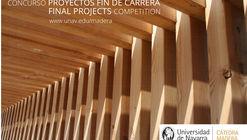 Convocatoria: V Concurso de PFC Cátedra Madera