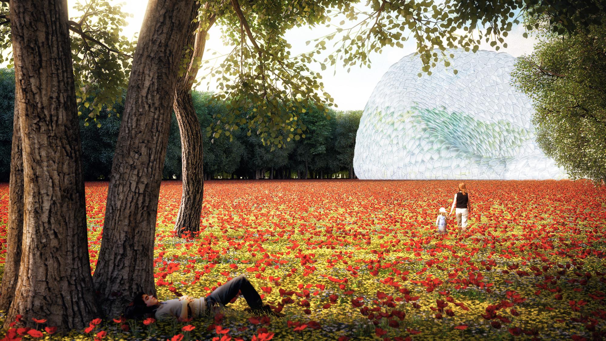 Gallery of mecanoo unveils design for experimental garden for Royal dutch gardens