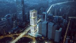 Aedas Releases Plans for Blooming Bamboo-Inspired Tower in China