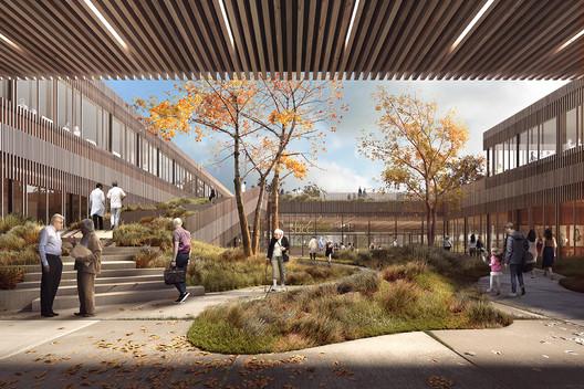 Courtesy of Vilhelm Lauritzen Architects, Mikkelsen Architects and STED Landscape