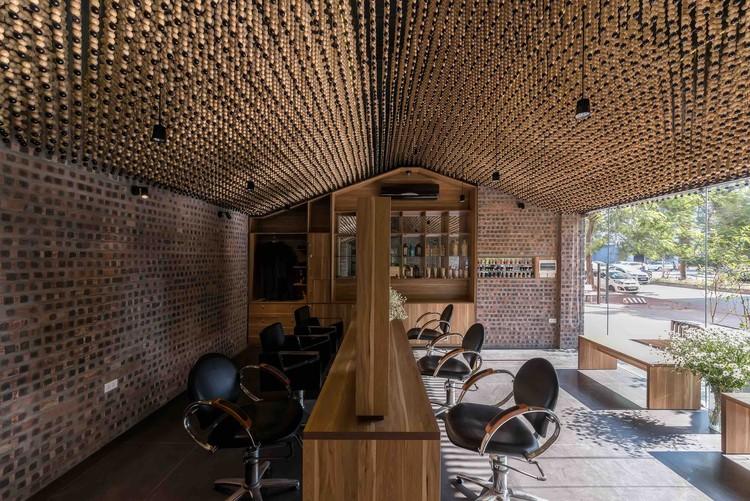 Mành Mành salon  / H&P Architects, © Nguyen TienThanh