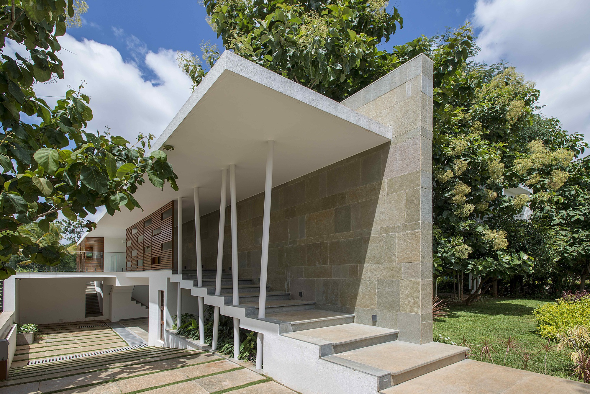 Ashish Cherian Residence Architecture Paradigm Archdaily