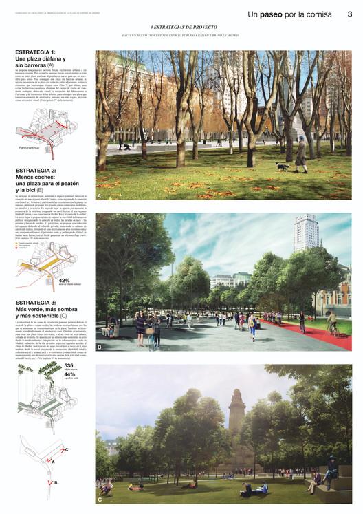 Un paseo por la cornisa / Lámina 03. Image vía Ayuntamiento de Madrid