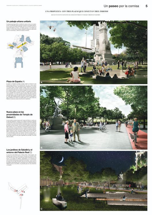 Un paseo por la cornisa / Lámina 05. Image vía Ayuntamiento de Madrid