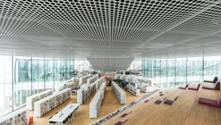Biblioteca Alexis de Tocqueville / OMA + Barcode Architects